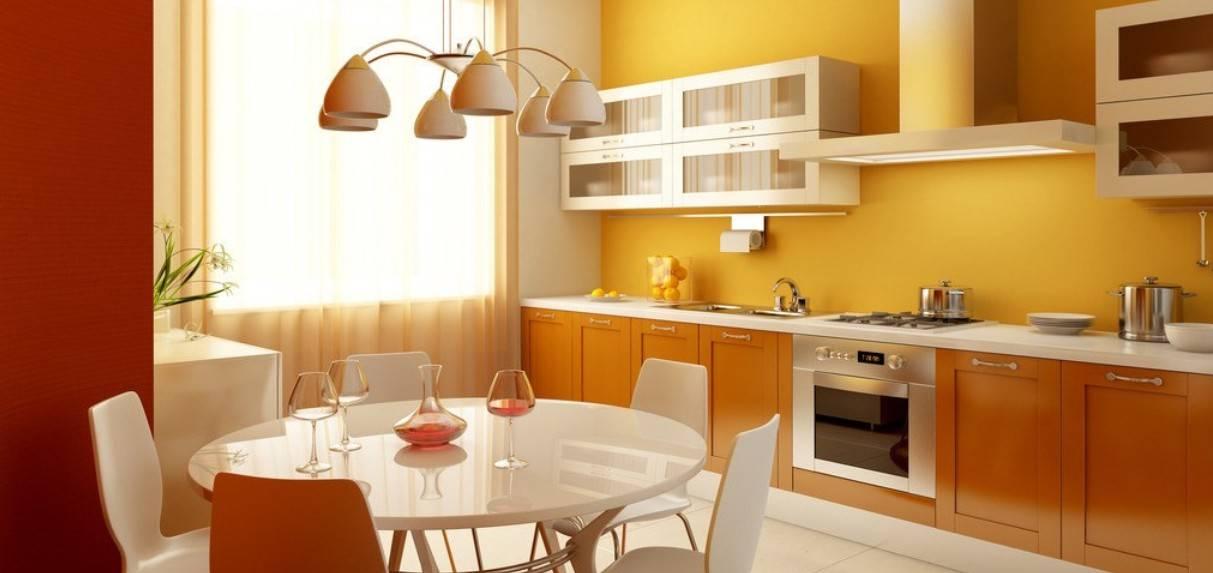 orange-kitchen-and-dining-room-modern-minimalist